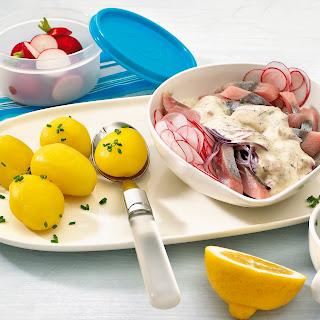 Matjessalat mit Radieschen