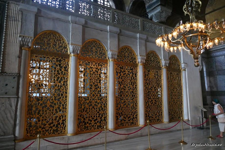 Hagia Sofia, grobowce sułtanów, pałac Topkapi, Cysterna Bazyliki, Wielki Bazar iparę meczetów
