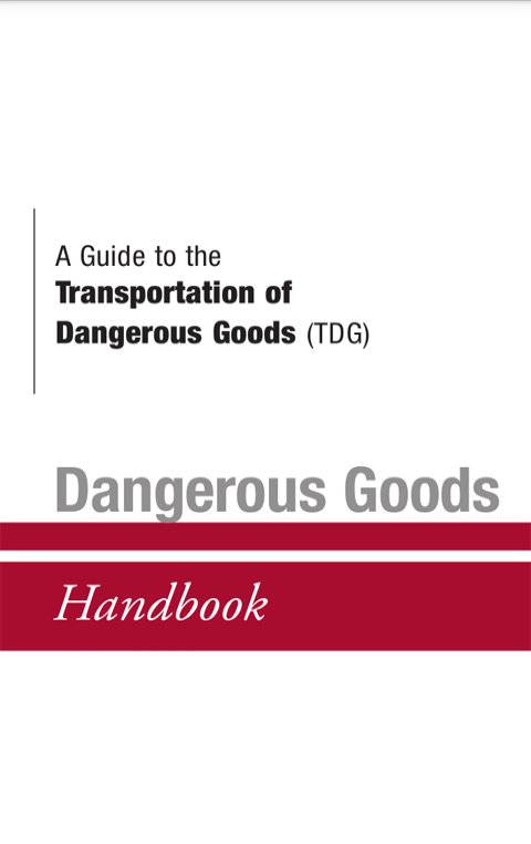 TDG Handbook- screenshot