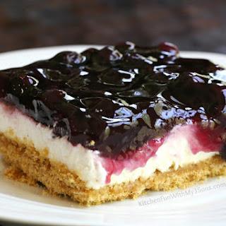 Lemon Blueberry Cheesecake Dessert Recipe