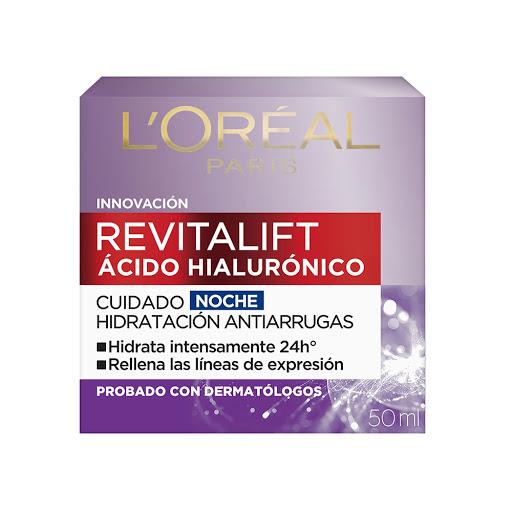 crema facial revitalift hialuronico noche 50 ml