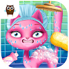 Cat Hair Salon Birthday Party - Kitty Haircut Care APK Icon
