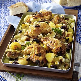 Greek Roast Chicken.