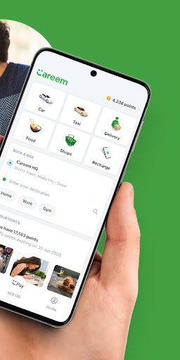 Careem - Rides, Food, Shops, Delivery & Payments screenshot 2