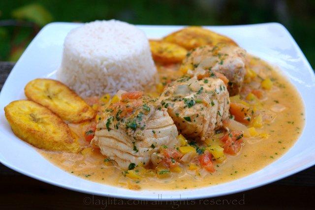 Pescado Encocado or Fish with Coconut Sauce Recipe