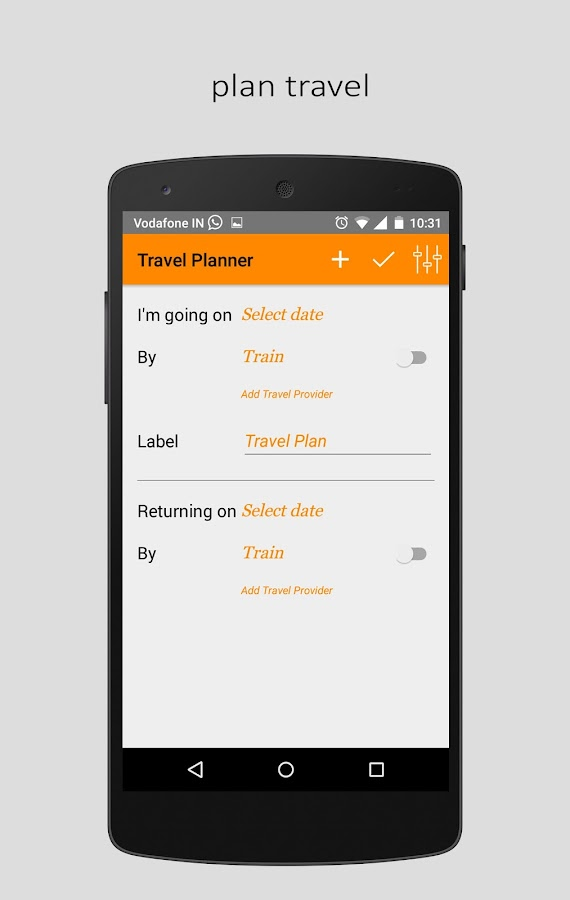 Marakalle - The Travel Planner- screenshot