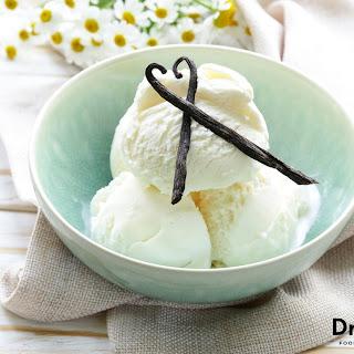 Raw Vanilla Ice Cream.