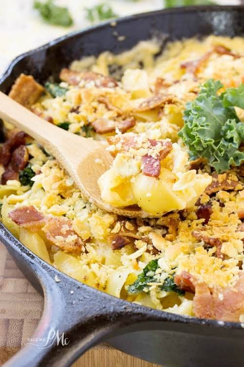 "Bacon Kale Mac n Cheese""Bacon Kale Mac n Cheese is the ultimate..."