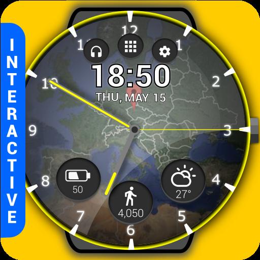 HuskyDEV Atlas Watch Face Icon