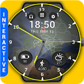 HuskyDEV Atlas Watch Face
