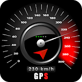 HUD Speedometer Digital : GPS Route Tracker