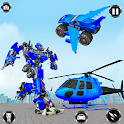 Police Monster Robot Truck Transformation icon