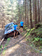 Photo: ... the 4x4 little incident...