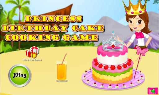 Princess Birthday Cake Cooking