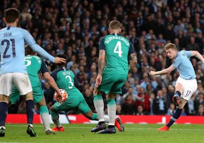 C1 : Malgré un KDB titanesque, City éliminé ; Liverpool avec Origi et sans stress
