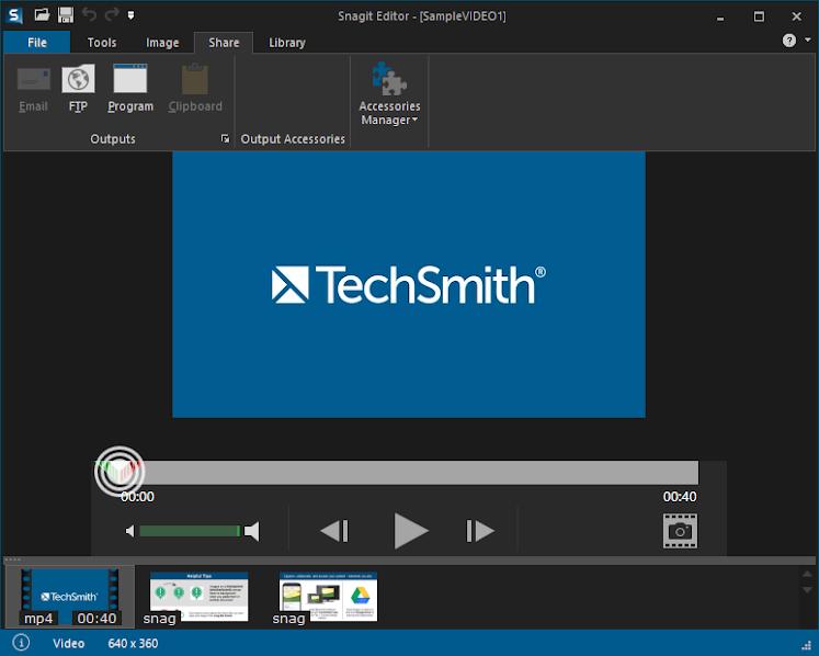Phần mềm TechSmith SnagIt