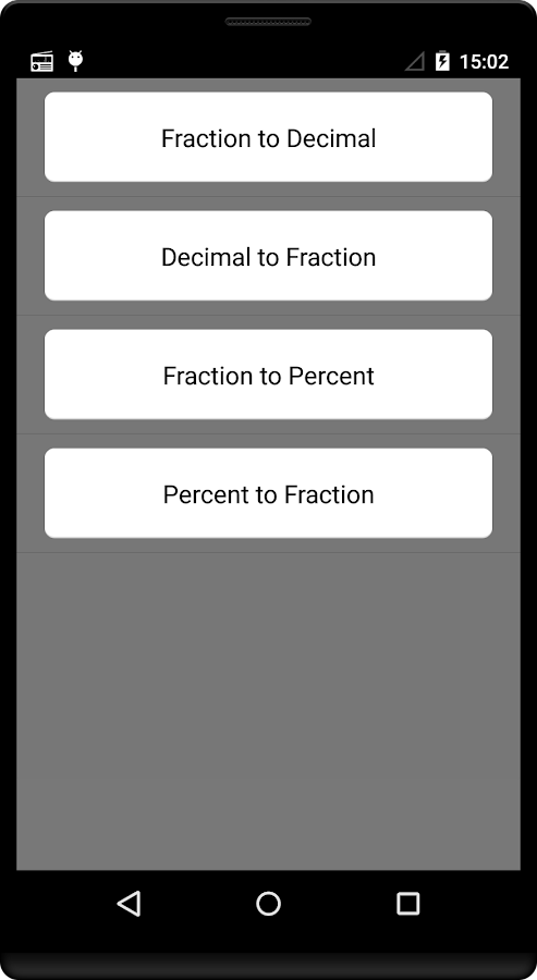 Fraction Converter - Android Apps on Google Play