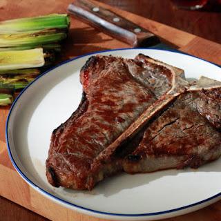 Thermal Shock Porterhouse Steak.