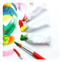Painting techniques icon