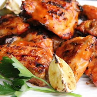 Kickin Grilled Orange Chicken.