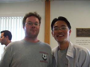Photo: David and Choong: any discrepancy here?