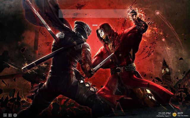 Samurai Ninja HD Tab Backgrounds