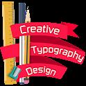 Creative Typography Design icon