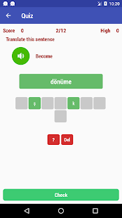 Learn Turkish Free Screenshot