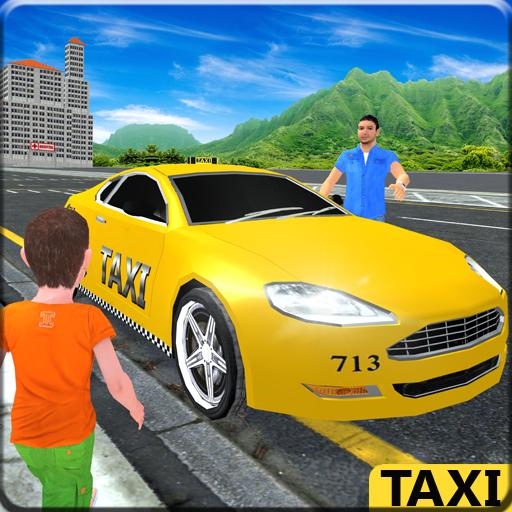 Kids NYC Taxi Crazy Adventure
