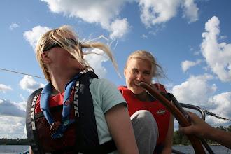 Photo: Johtajat purjehtimassa