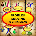 Problem Solving - 5 Mind Maps Icon