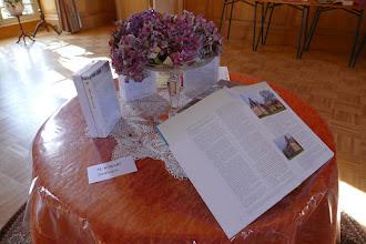 """Photo: """"Delphine de CUSTINE Reine des roses"""" et  """"Poternes et autres colombiers du Pays d'Auge"""""""