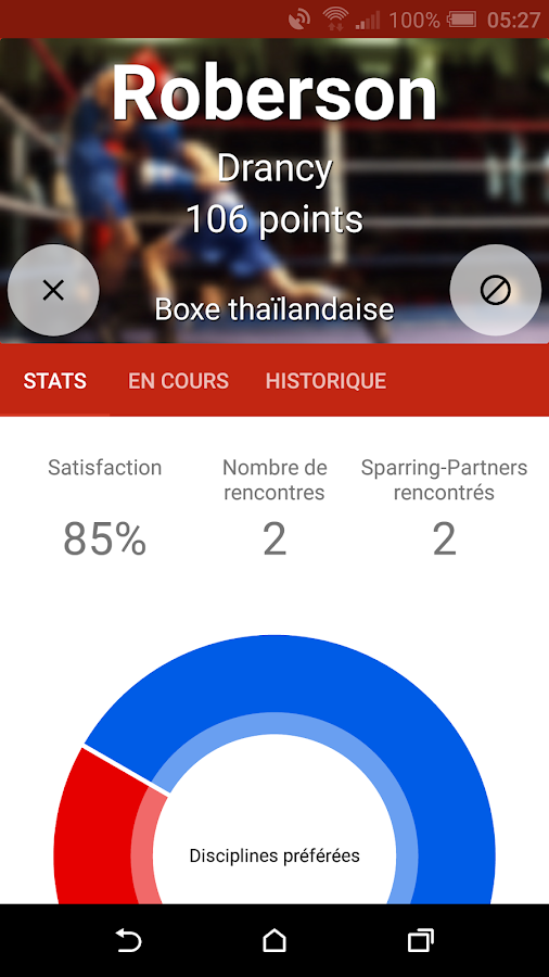 Sparring-Partners, rdv sportif- screenshot