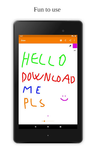 Foto do Simple Draw - App for your quick & easy sketches