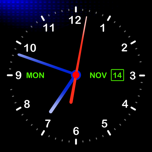 Digital Clock Live Wallpaper Icon