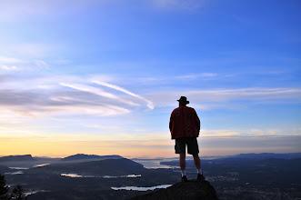 Photo: Welcoming the dawn atop Mt.Prevost. Taken by Karsten Klawitter aka +Karsten of the Island