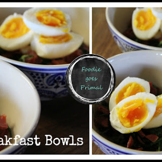 Quick & Easy Low Carb Breakfast Bowls.