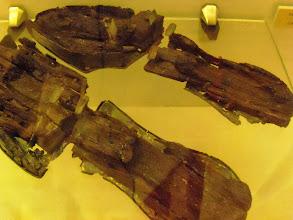 Photo: Apollonia Museum - Roman shoe soles