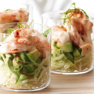 Prawn Cocktails With Smoky Mayonnaise.