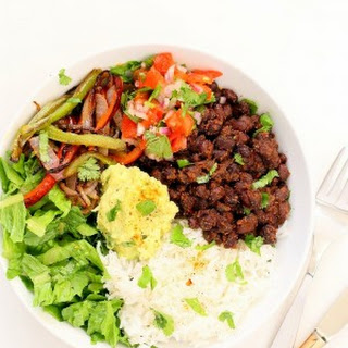Easy Black Bean Burrito Bowl