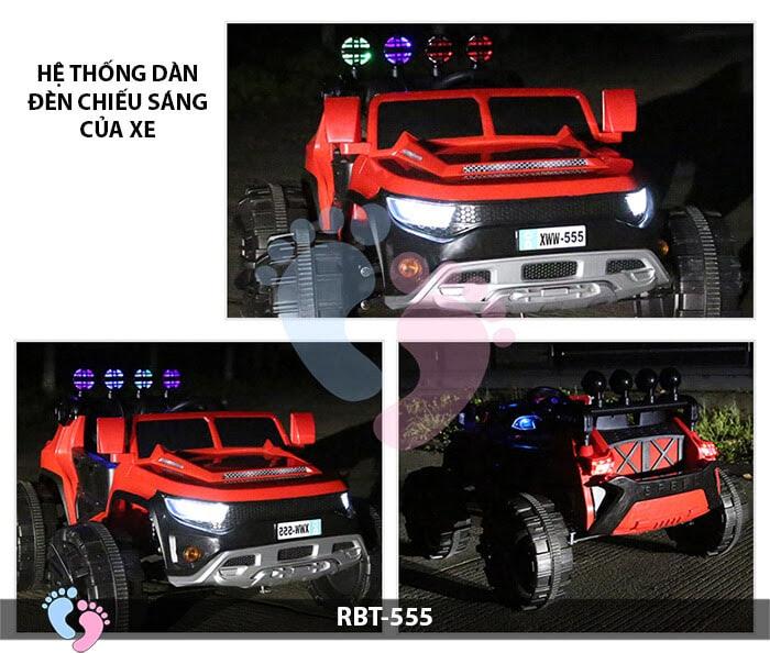 Xe ô tô điện địa hình cỡ lớn RBT-555 12