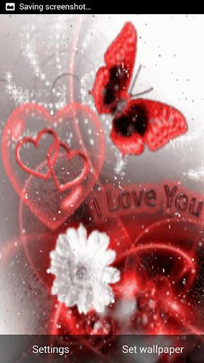love 3d live wall paper screenshot 3