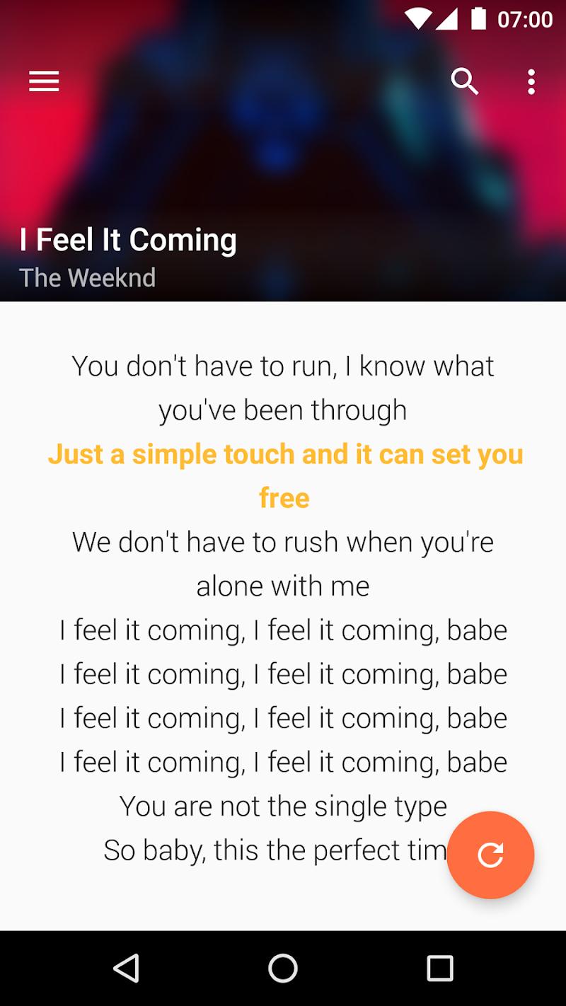 QuickLyric - Instant Lyrics Screenshot 4