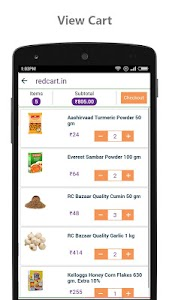 redcart - Grocery Shopping App screenshot 14