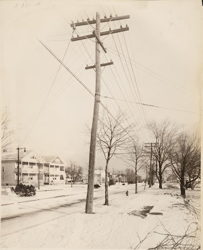 Albany, NY. New Scotland Ave., showing system used in hook-up from old to new installation