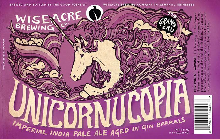 Logo of Wiseacre Unicornucopia 2016