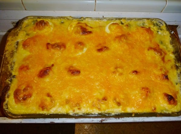 Deviled Egg & Spinach Casserole Recipe