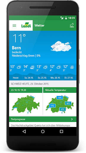 LANDI Wetter 3.2.7 screenshots 1