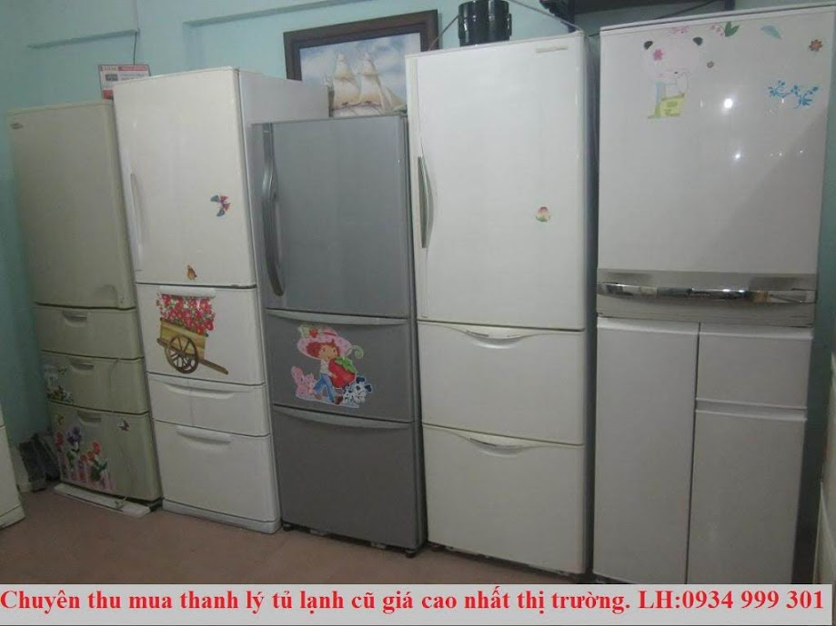 thu mua tủ lạnh cũ