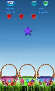 Bucket Learn - Digits, Figures, Letters Screenshot